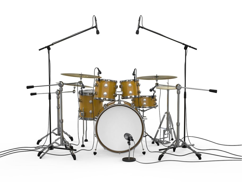 microphones for a drum kit