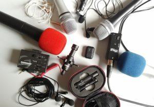 types of external microphones
