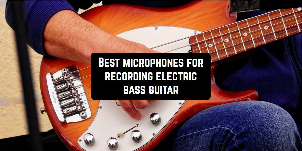 microphones electric bass guitar