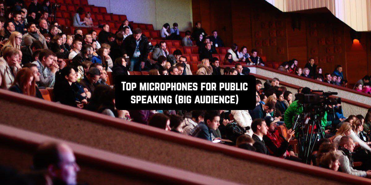 public speaking big audience
